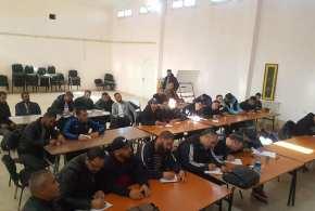 اختتام دورة تربص المدربين المنظم من قبل الاتحادية الجزايرية للملاكمة بدار الشباب مفيد زكريا ببوسعادة