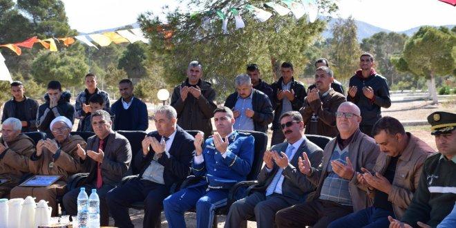 مدير التربية يشرف بدائرة جبل امساعد على الاحتفال باليوم الوطني للشهيد