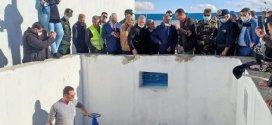 إشارة تشغيل محطة تحويل المياه الصالحة للشرب بالحوران بلدية حمام الضلعة