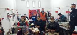 مؤسسة هدروق للخياطة تفتتح ورشة ثانية وتنتظر الدعم