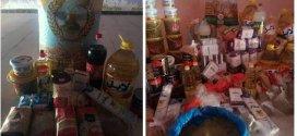 جمعية كافل اليتيم بين سرور توزع 78. قفة خلال رمضان