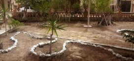 حملة نظافة واسعة لجمعية حي الخرابشة ميطر بمقر دائرة بوسعادة