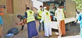 جمعية الارشاد والإصلاح توجه قافلة مساعدات لعائلة خوادم لزهر