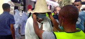 عملية تنزيل لقافلة تحسيسية بقيادة جمعيات و نشطاء اجتماعيين