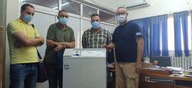 جمعية أحباب مدينة بوسعادةتسلم جهاز انتاج الاكسجين لمستشفى رزيق