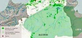 المساحة الهائلة  التي تكّون الحوض العملاق للمياه الجوفية الجزائرية