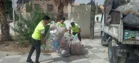الجمعية الوطنية افاق للتنمية المستدامة تنظف حديقة الوئام