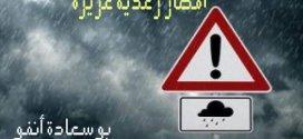 تحذيرات بخصوص تساقط أمطار غزيرة على مسيلة وبعض الولايات