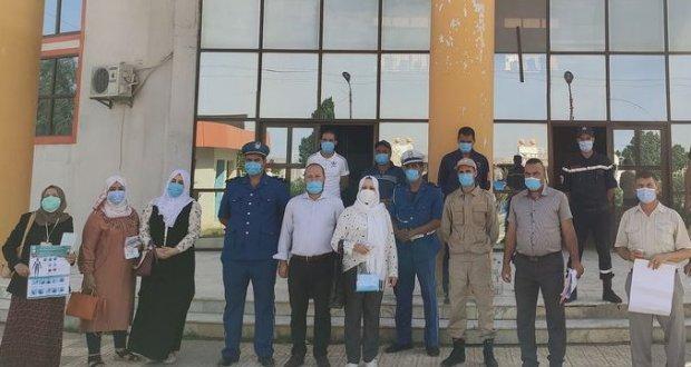 حملة تحسيسية للوقاية من فيروس الكورونا