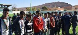 اختتام دورة كرة القدم للكشافة الاسلامية الجزائرية