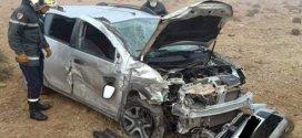 حادث مرور مميت في اصطدام بين ثلاث سيارات خلف وفاة رجل