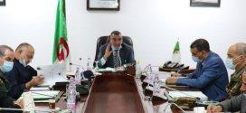 الوالي يعقد اجتماعا للجنة الأمنية الولائية الموسعة