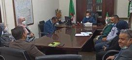 إجتماع موسعا للجنة الصحة لدراسة الوضعية الوبائية covid 19