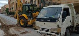 حملة نظافة واسعة من طرف شركة والى وجمعية حي الباطن