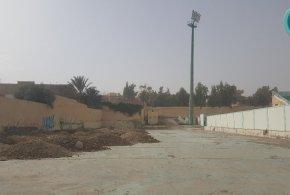 قبل اسبوع من زيارة اللجنة .. اشغال ضرورية لتاهيل ملعب مختار عبد اللطيف