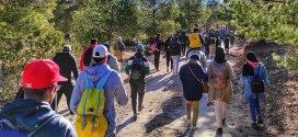رحلة مشي على الاقدام من بلدية جبل امساعد الى بلدية ولتام