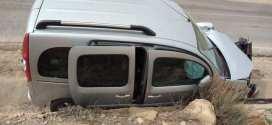 إصابة ستة اشخاص في حادث مرور بمنطقة الجباس ببلدية تامسة