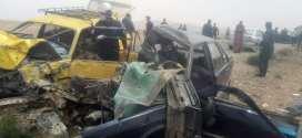 حادث مرور مميت في اصطدام بين سيارتين خلف وفاة 04 اشخاص بمنطقة حشاد