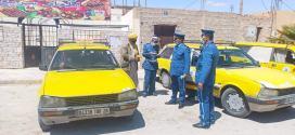 امن دائرة جبل امساعد تطلق حملة تحسيسية لفائدة مستعملي الطريق وسائقي الاجرة