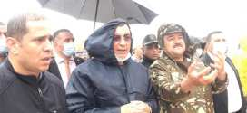 الان .. والي ولاية المسيلة ببوسعادة لإنقاذ ضحايا سيول الأمطار