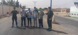حملة تحسيسية توعوية ببلدية أولاد سليمان للوقاية من وباء كورونا