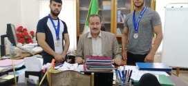 رئيس دائرة بن سرور يستقبل أبطال الجزائر وابن سرور الذين شاركوا في البطولة الأفريقية