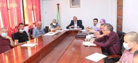 الأمين العام للولاية في استقبال ممثلي وأعيان بلدية ونوغة