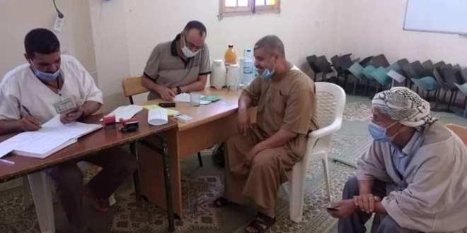 تواصل حملة التلقيح ضد كوفيد 19  وحمزة عبد المطلب ببوسعادة الوجهة الثانية