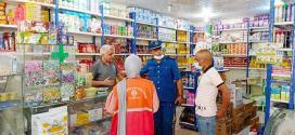 مصالخ امن دائرة جبل امساعد تواصل جهودها التحسيسية لليوم الوطني للتلقيح
