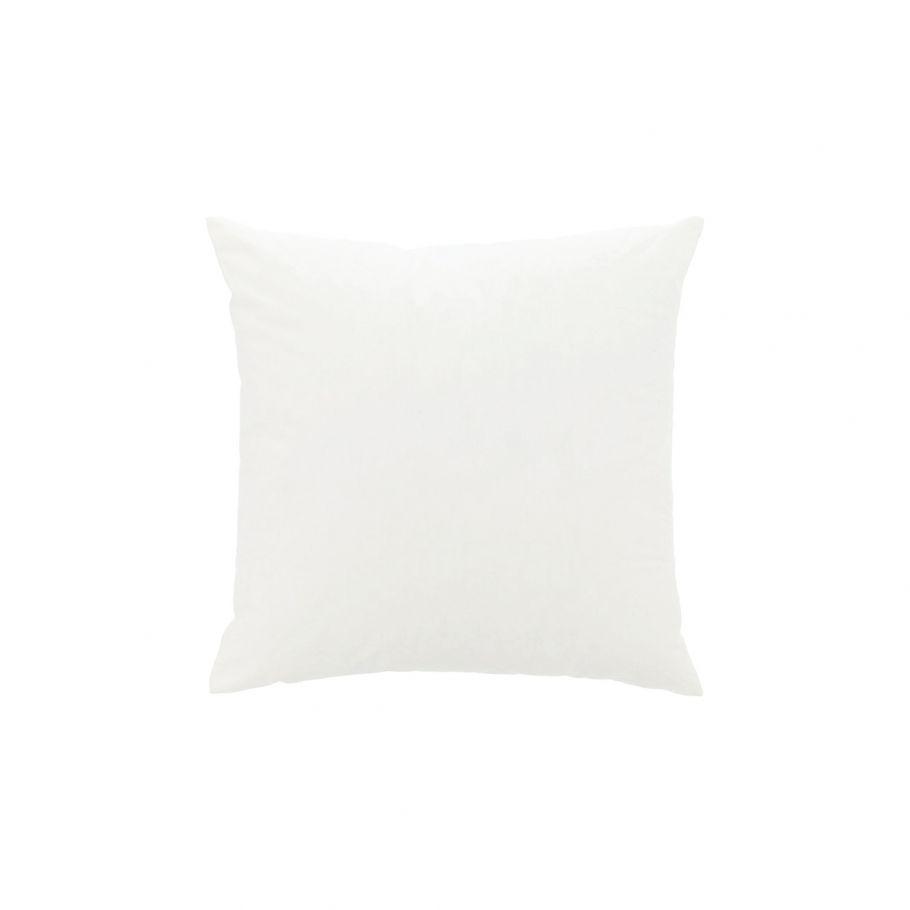 coussin en coton a recouvrir 30 x 30 cm blanc
