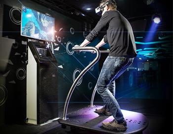 Animation réalité virtuelle 5D