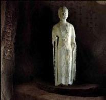 bouddha ancien en pierre