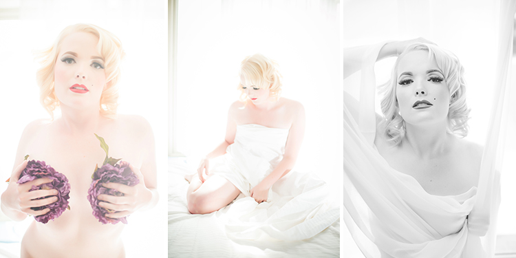 Marilyn Monroe Boudoir Photography