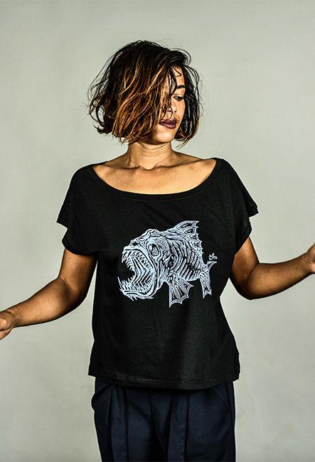 T-shirt bouftang serigraphie bio equitable