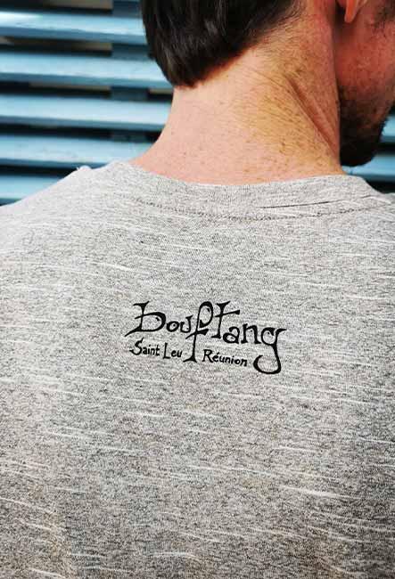 Méchant - Tee-shirt - Sérigraphie artisanale - île de la Réunion - Coton 100% Biologique - Équitable - Dessin original Bouftang