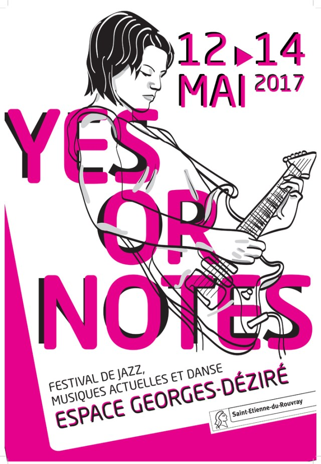Affiche Festival Yes or Notes