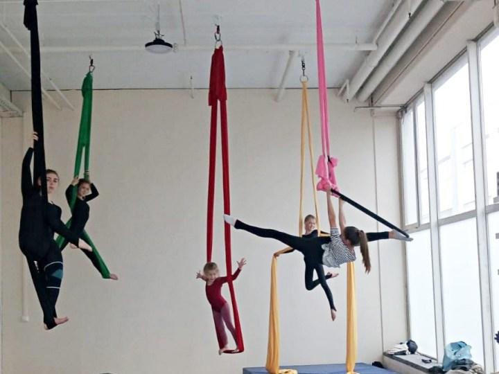 Aerial Boulder Mix Kurs – Kids