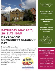 Join us June 10th for our Nederland Community Cleanup Day!