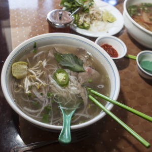 A bowl of pho at Lafayette's Pho Café.
