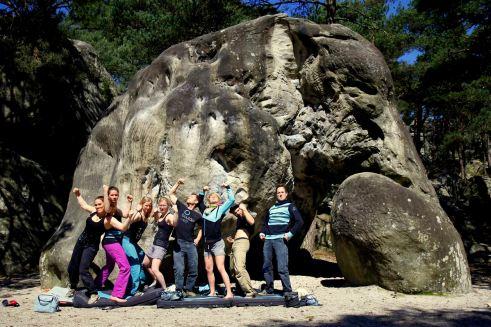 Teamfahrt Fontainbleau 2015 Ostern (61)