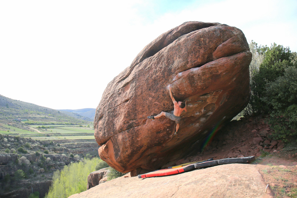 Boulderwelt Athletenteam Blogartikel beim Bouldern und Klettern rund um Valencia