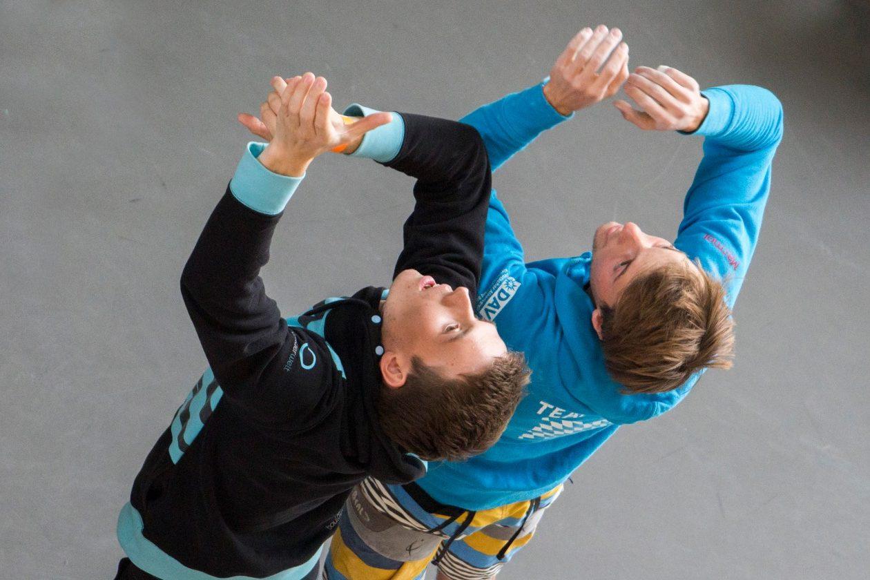 Boulderwelt Athletenteam steffen auf der Süddeutschen Meisterschaft in Neu Ulm