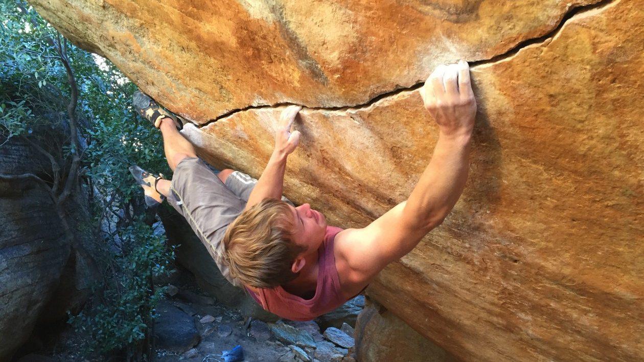 Boulderwelt Athletenteam Mitglied Flo Lochner stellt sich vor