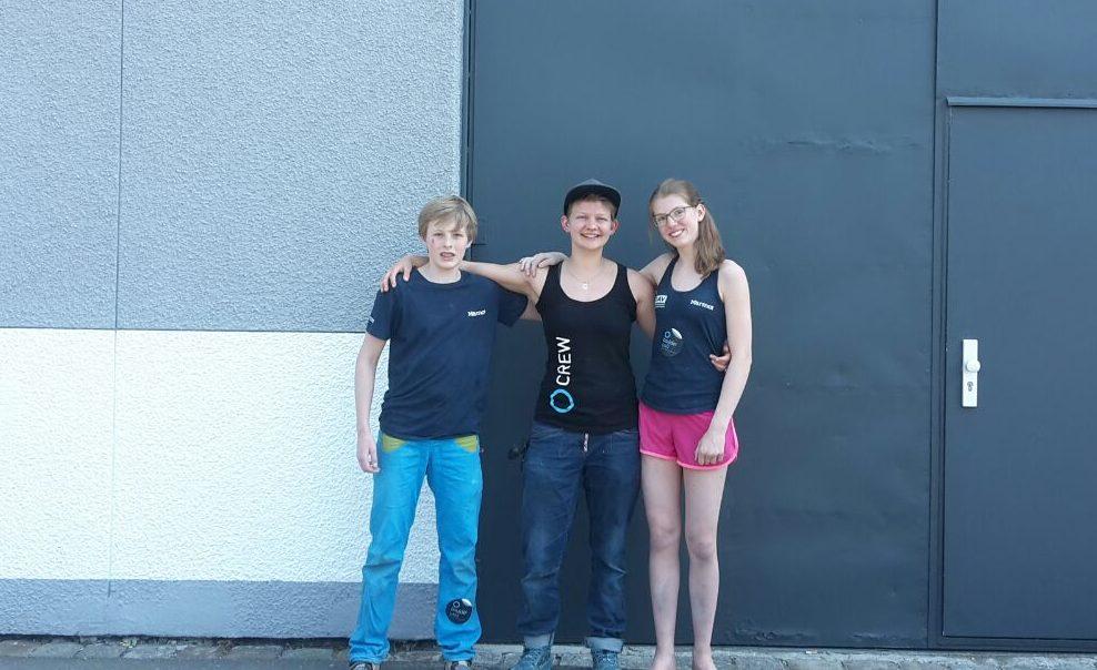 Jojo von den Boulderwelt Youngsters erzählt von ihren Erfahrungen auf dem Deutschen Jugend Bouldercup