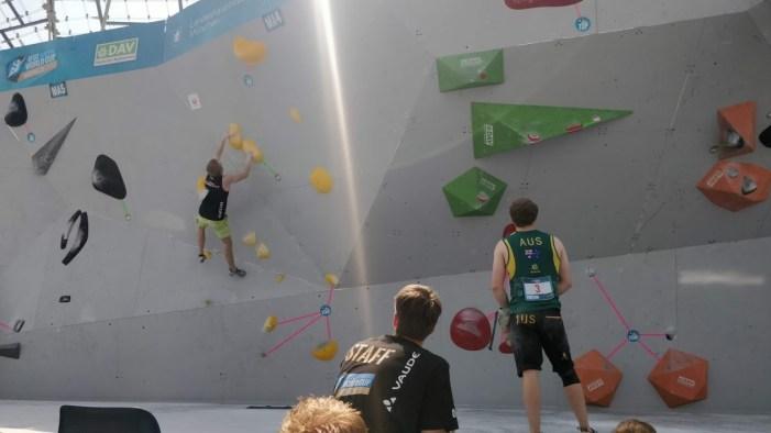 World Cup München Bouldering Boulderwelt München Nadia Hoffmann