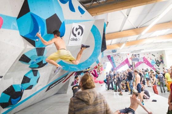 Spaßwettkampf Soulmoves Süd 10.1 in der Boulderwelt München Ost