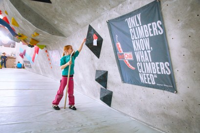 Impression vom Day of the Boulder 2017 in der Boulderwelt Frankfurt