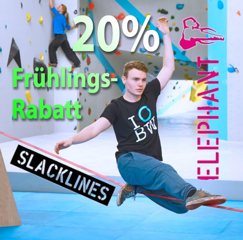 Shopnews Elephant Slackline Boulderwelt Frankfurt