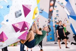 Tag der offenen Tür 2018 - eine super Gelegenheit die Boulderwelt Frankfurt gratis kennenzulernen.
