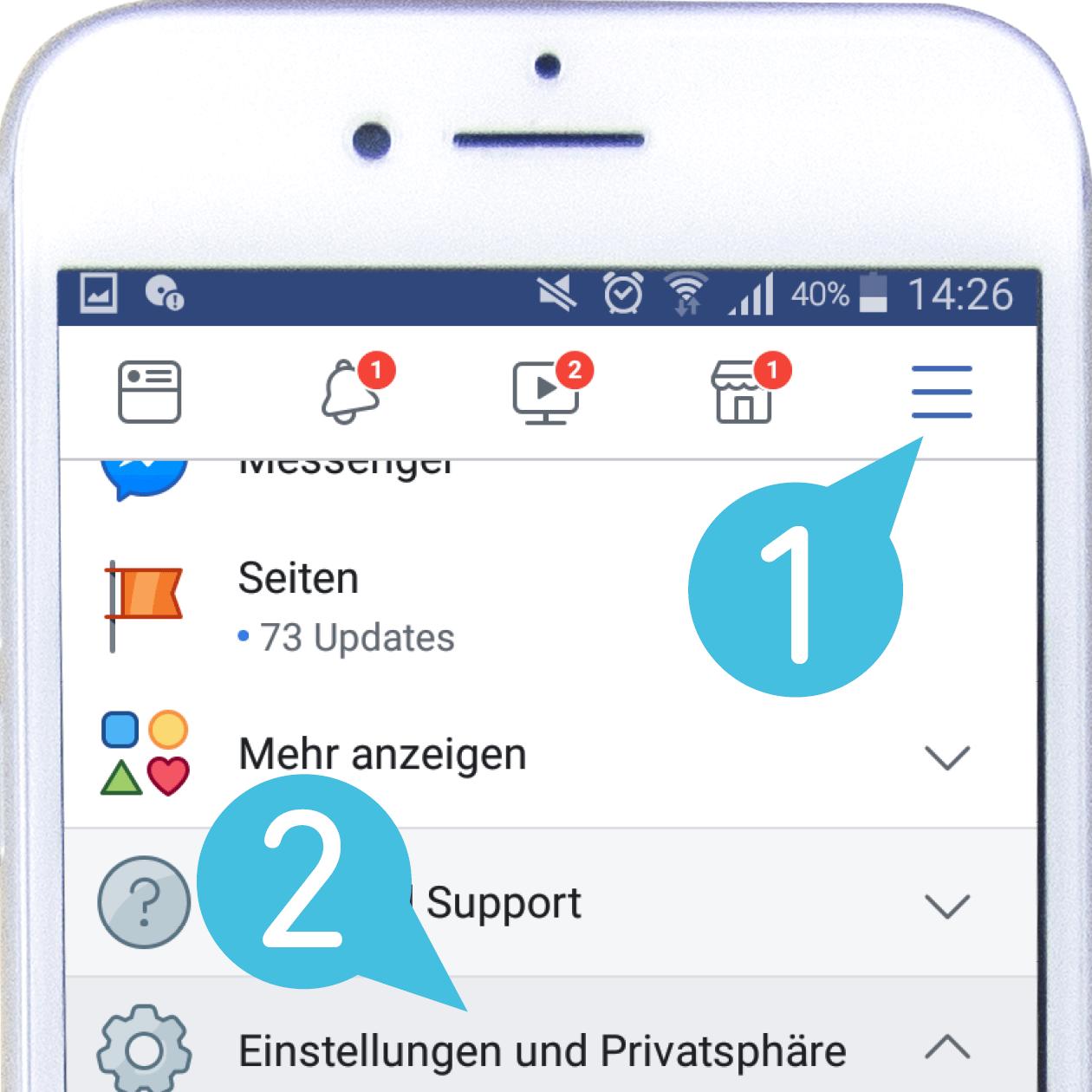 Tipps für Social Media, Facebook Priorisieren